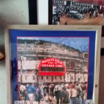 Customer custom framed Chicago Cubs Wrigley Field poster 11