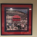 Customer custom framed Chicago Cubs Wrigley Field poster 7