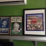 Customer custom framed Chicago Cubs Wrigley Field poster black frame 2